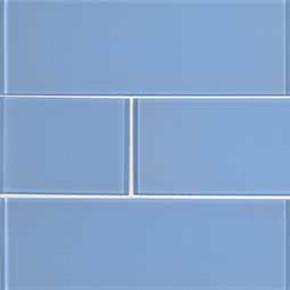 MS International Backsplash Series: Royal Azure Glossy 4x12 Glass Subway Tile SMOT-GL-T-ROYAZU412