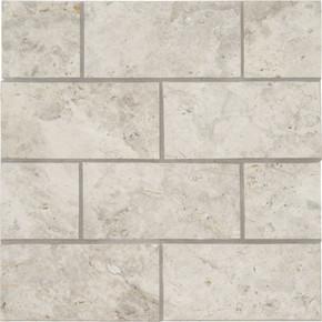 MS International Backsplash Series: Tundra Gray 3x6 Polished Subway Tile TTUNGRY3X6P