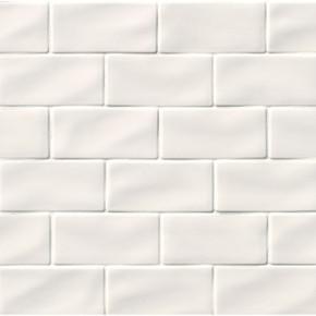 MS International Backsplash Series: Whisper White Handcrafted 3x6 Glossy Subway Tile SMOT-PT-WW36
