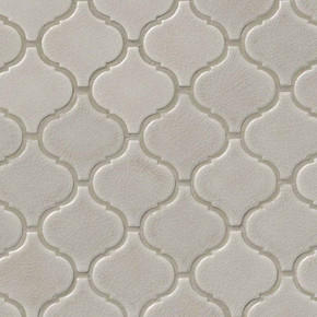 MS International Specialty Shapes Wall Series: Fog Arabesque Pattern 6mm Tile SMOT-PT-FOG-ARABESQ