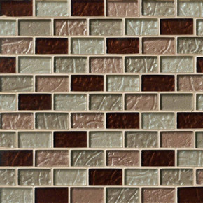MS International Glass Tile Series: Ayres Blend 1x2x8MM Mosaic Tile SMOT-GLBRK-AB8M