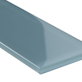 MS International Glass Tile Series: Harbor Gray 3x9 Backsplash Glass Subway Tile SMOT-GL-T-HAGR39