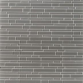MS International Glass Tile Series: Pebble Interlocking Pattern 8mm Tile SMOT-GLSIL-PE8MM