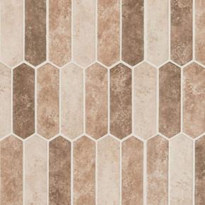 MS International Glass Tile Series: Sandhills Picket 6mm Recycled Glass Mosaic Tile SMOT-GLSPK-SAND6MM