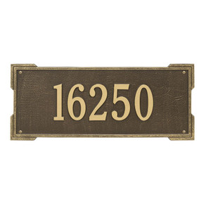 Whitehall Personalized Roanoke Plaque – Estate -Wall – 1 Line