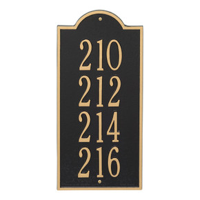 Whitehall New Bedford Large Wall Plaque – 4 Lines