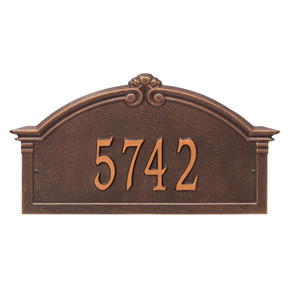 Whitehall Personalized Roselyn Arch Plaque – Grande – Wall – 1 Line