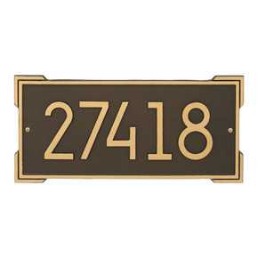 Whitehall Roanoke Modern Personalized Wall Plaque