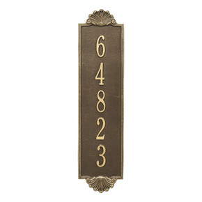 Whitehall Personalized Shell Vertical Estate Wall Plaque
