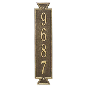 Whitehall Personalized Exeter Vertical Wall Plaque