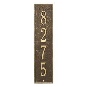 Whitehall Personalized Delaware Vertical Wall Plaque