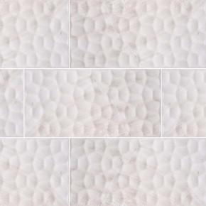 MS International Ceramic Series: 12x24 Adella Viso Gris Satin Matte Finish Wall Tile NADEVISGRI1224