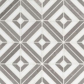 MS International Marble Series: Rhombix Dove Polished Wall Tile SMOT-RHOMBIX-DOVEP