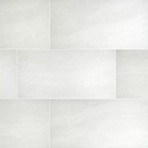 MS International Praia Series: 24x48 White Porcelain Tile NPRAWHI24X48