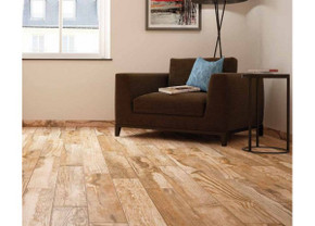 """Salvage Red 6 x 40"""" Wood Look Porcelain Tile"""