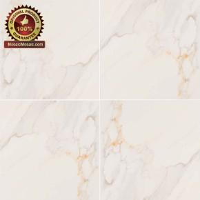 "MS International Adella Series: Calacatta 18"" x 18"" Matte Porcelain Tile NADECAL1818"