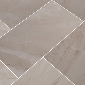 MS International Adella Series: 12x24 Gris Satin Matte Finish Ceramic Wall Tile NADEGRI1224
