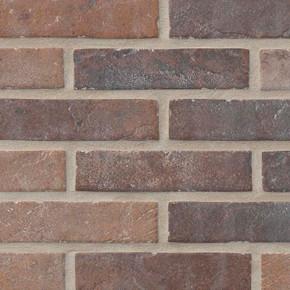 MS International Brickstone Series: Red 2X10 Brick Pattern Matte Porcelain Tile Brickstone