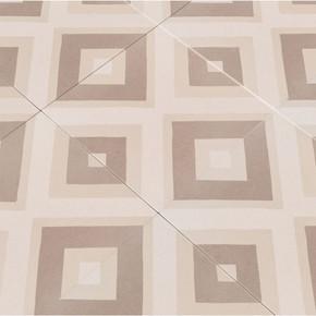 MS International Kenzzi Series: Metrica 8X8 Matte Porcelain Tile NMET8X8