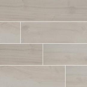 MS International Palmetto Series: Bianco 6X36 Matte Porcelain Tile NPALBIA6X36