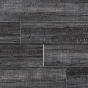 MS International Belmond Series: Obsidian 8X40 Black Matte Ceramic Tile NBELOBS8X40