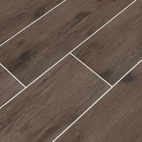 MS International Celeste Series: Nutmeg 8X40 Black Matte Wood Look Ceramic Tile NCELNUT8X40