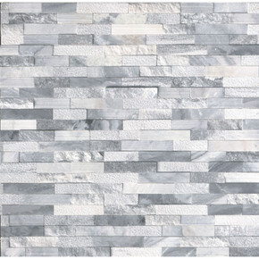 MS International Stacked Stone Series: Alaska Gray 6x24 Multi Finish Ledger Panel LPNLMALAGRY624-MULTI