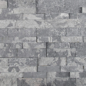 MS International Stacked Stone Series: Glacial Grey 6X24 Split Face Ledger Panel LPNLMGLAGRY624