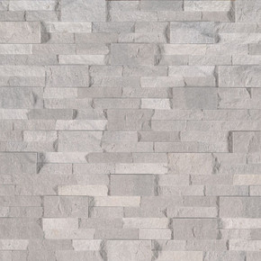 MS International Stacked Stone Series: Iceland Gray 6X24 Split Face Ledger Panel LPNLTICEGRY624