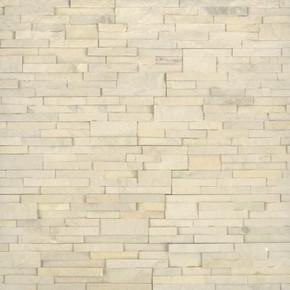 MS International Stacked Stone Series: Sedona Beige 6X24 Split Face Ledger Panel LPNLDSEDBEI624