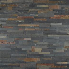 MS International Stacked Stone Series: Sedona Multi Color 6X24 Split Face Ledger Panel LPNLSSEDMLT624