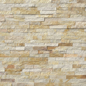 MS International Stacked Stone Series: Sparkling Autumn 6x24 Split Face Ledger Panel LPNLQSPAAUT624