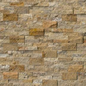 MS International Stacked Stone Series: Tuscany Scabas 6X24 Split Face Ledger Panel LPNLTSCA624