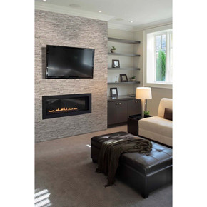 MS International Stacked Stone Series: White Oak 6x24 3D Honed Ledger Panel LPNLMWHIOAK624-3DH