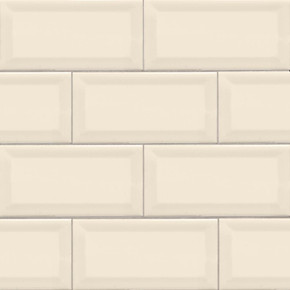 MS International Backsplash Series: Almond 3X6 Beveled Glossy Subway Tile NALMGLO3X6BEV
