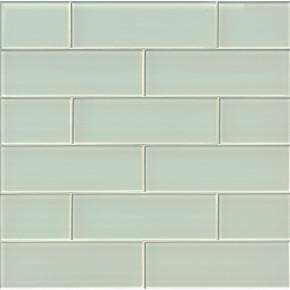 MS International Backsplash Series: Arctic Ice 4x12 Glossy Subway Tile SMOT-GL-T-AI412