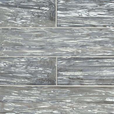 MS International Backsplash Series: Chilcott Shimmer Glossy 3X12 Glass Subway Tile SMOT-GL-T-CHISHI312