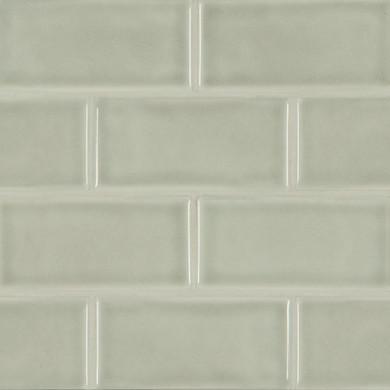 MS International Backsplash Series: Morning Fog Handcrafted 3x6 Glossy Subway Tile SMOT-PT-MOFOG36