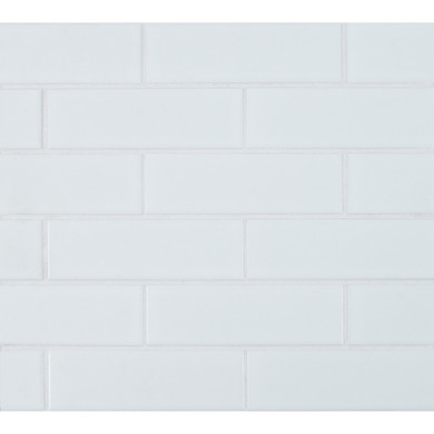 MS International Backsplash Series: Retro Brick Bianco 2x6 Matte Subway Porcelain Tile SMOT-PT-RETBIA-2X6