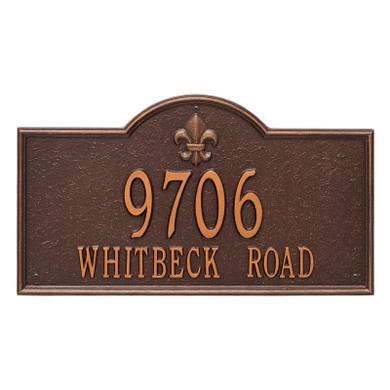 Whitehall Bayou Vista – Estate Wall – Two Line
