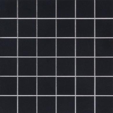 MS International Porcelain Series: 2x2 Domino Black Matte Wall Tile SMOT-PT-RETNERO-2X2M