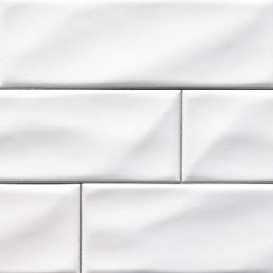 MS International Ceramic Series: 4x12 White Glossy Subway Tile NWHIGLO4X12