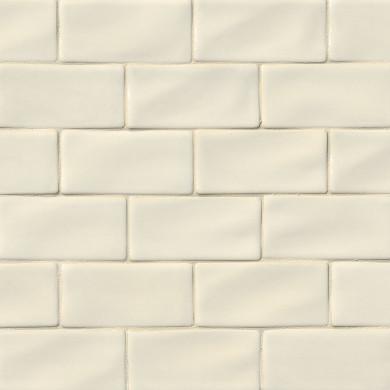 MS International Ceramic Series: 3x6 Antique White Subway Wall Tile SMOT-PT-AW36
