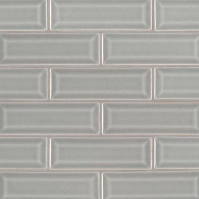 MS International Ceramic Series: 2x6 Morning Fog Beveled Wall Tile SMOT-PT-MOFOG-2X6B