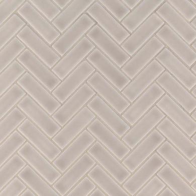 MS International Ceramic Series: 8mm Portico Pearl Herringbone Pattern Wall Tile SMOT-PT-PORPEA-HB