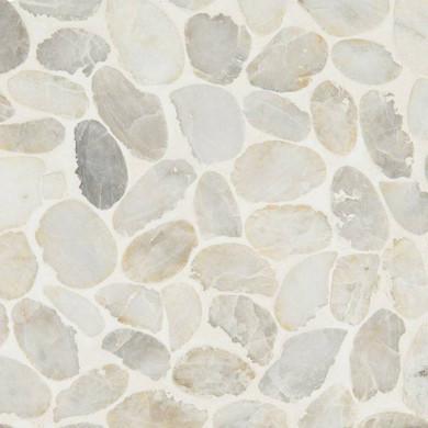 MS International Marble Series: 10mm Dorado Pebble Tumbled Wall Tile SMOT-PEB-DORADO