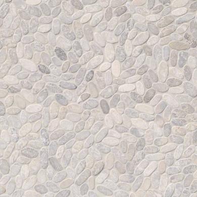 MS International Marble Series: Sliced Pebble Ash Tumbled Wall Tile SMOT-PEB-ASH