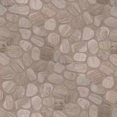 MS International Marble Series: White Oak Pebbles Tumbled Wall Tile SMOT-PEB-WHTOAK