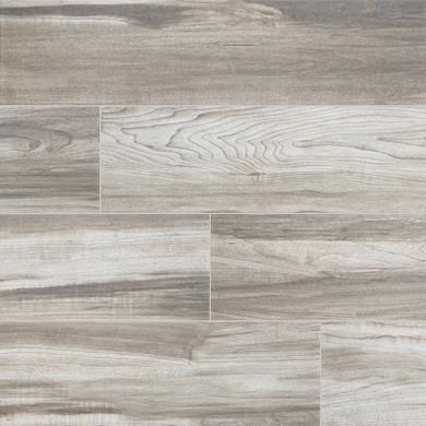 MS International Carolina Timber Series: 6x36 Gray Wood Look Ceramic Tile NCARTIMGRE6X36-N