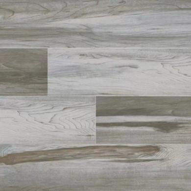 MS International Carolina Timber Series: 6x24 White Glazed Ceramic Tile NCARTIMWHI6X24